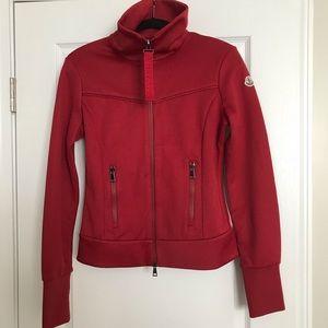 New Women's Moncler Jersey Stripe Track Jacket